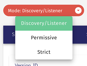 Osano discovery and listener mode.